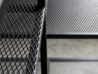 Flatten expanded mesh