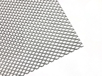 1.0*5*10*2 mm, front, aluminum expanded metal mesh