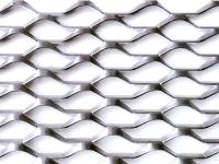 irregular shape aluminum expanded metal mesh
