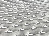 15*30 mm original color aluminum expanded metal mesh