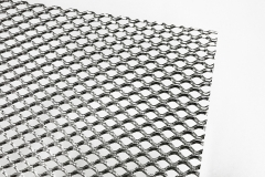 1.0*5*10*2 mm, back, aluminum expanded metal mesh