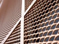 expanded metal mesh facades