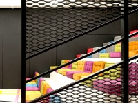 expanded metal mesh decorations