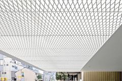 white Aluminum mesh ceilings