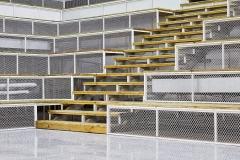 Aluminum mesh decorations