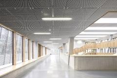 Aluminum mesh ceilings