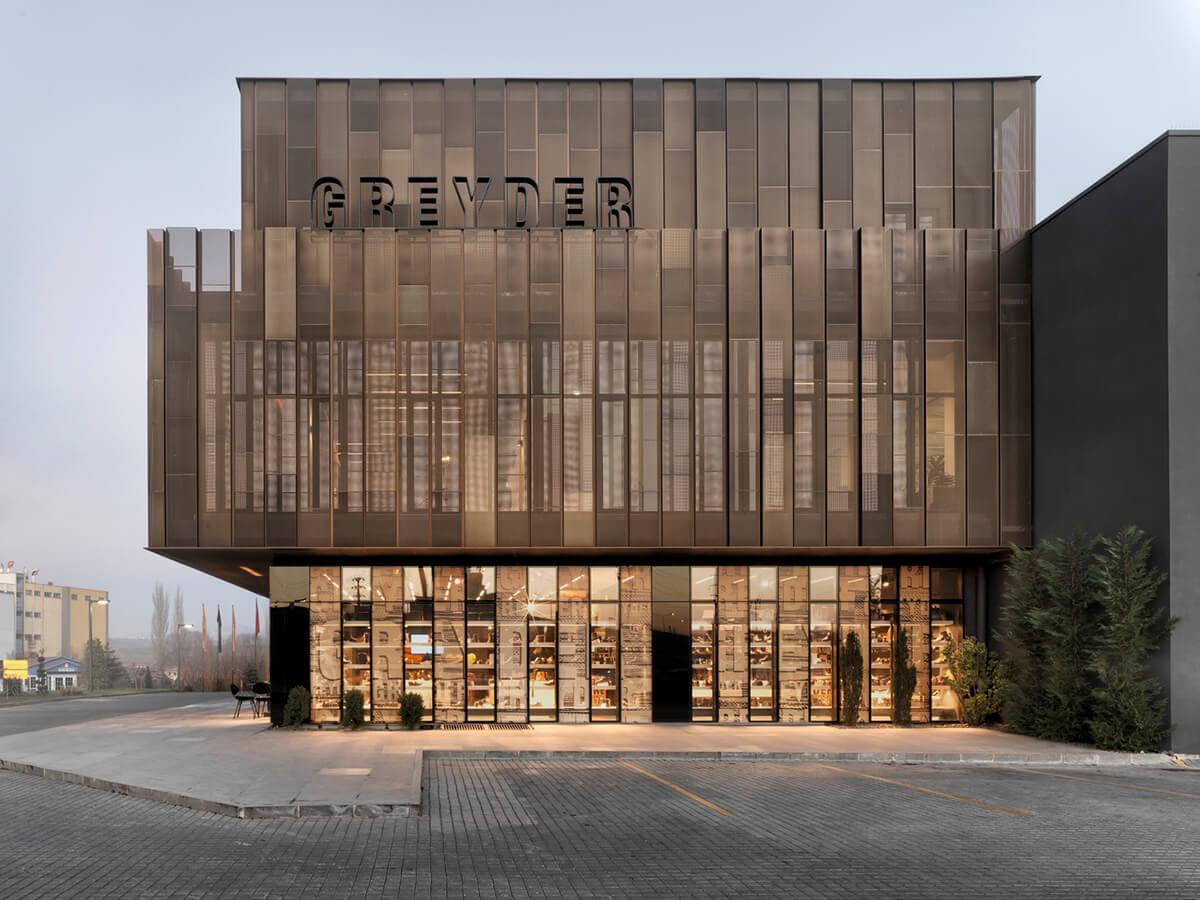 Greyder shoe factory