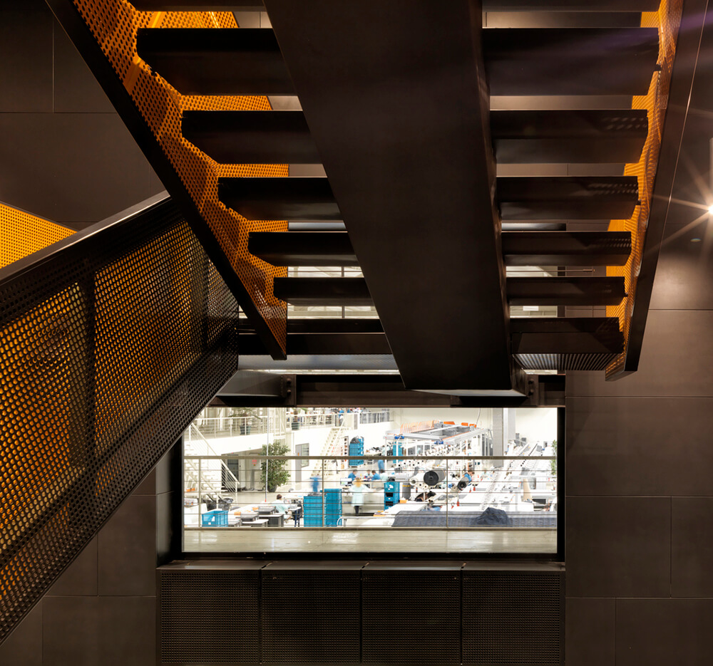 expanded metal stairs