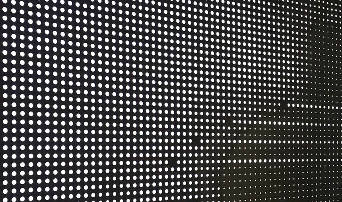the perforated metal /expanded metal
