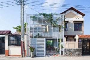 The small nets house with expanded metal