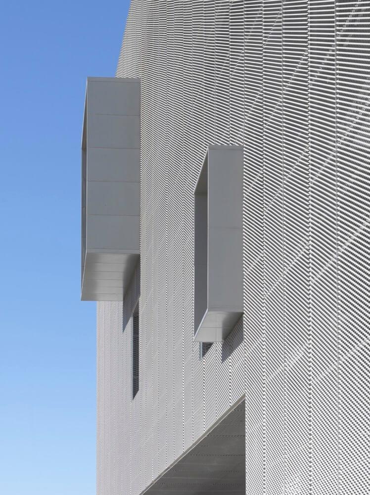 external aluminum facade