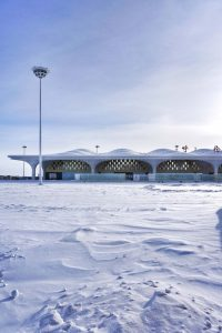 The Hulunbuir Hailar Airport–A dazzling jewel with expanded metal
