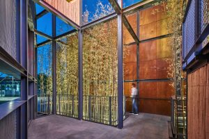 HONG KONG GARDEN in Beijing with expanded metal facades