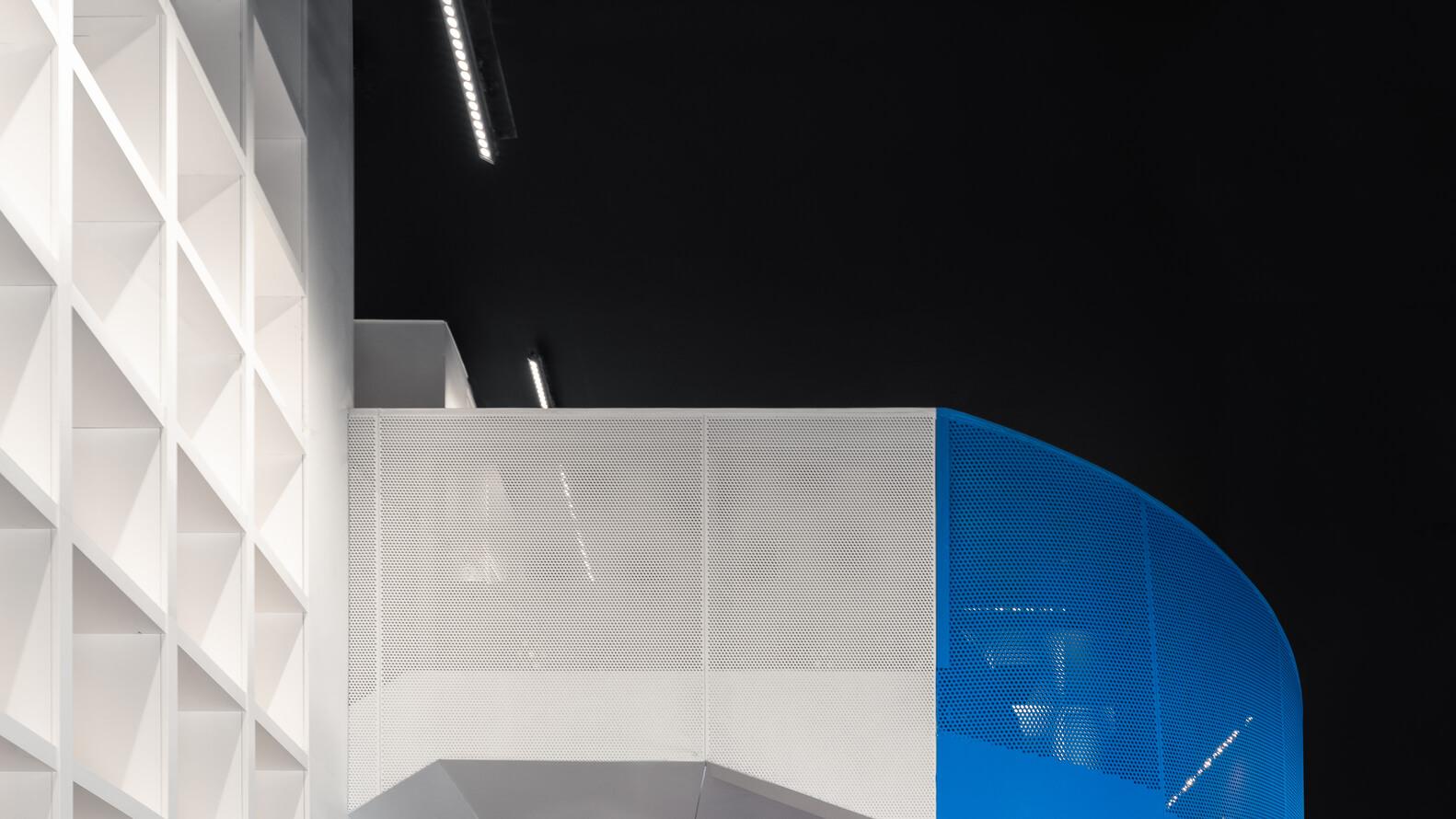 perforated aluminum guard bar
