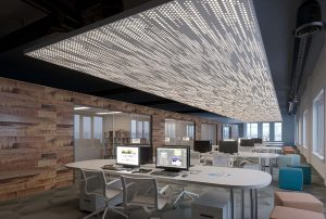 Perforated Panel Ceiling