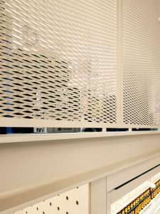 Expanded Metal Mesh for Soup Market Wall