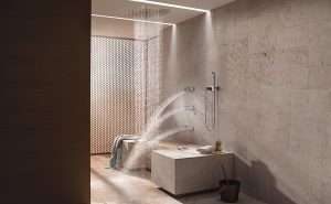 Perforated Grill for Horizontal Shower